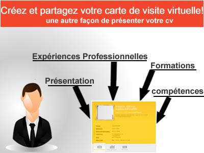 Carte De Visite Virtuelle Maroc